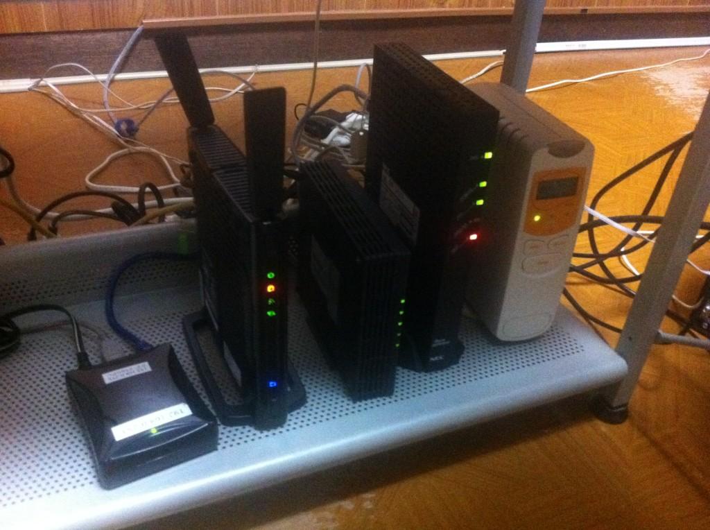BBIQ回線の環境